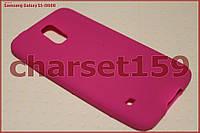 Бампер чехол на Samsung Galaxy S5 i9600 розовый