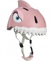 Защитный шлем CRAZY SAFETY Pink Shark (прорезиненный)