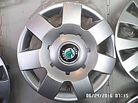 Колпаки Skoda R 14 под оригинальные SKS