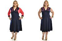 Женский костюм-двойка (сарафан+болеро) больших размеров №454  48-62 р