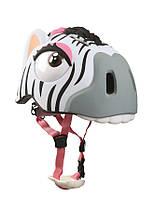 Защитный шлем CRAZY SAFETY Crazy Zebra (прорезиненный)