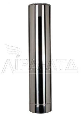 Труба для сауны (термо) 1 метр 1 мм н/н AISI 304, фото 2