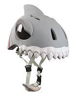 Защитный шлем CRAZY SAFETY White Shark (прорезиненный)