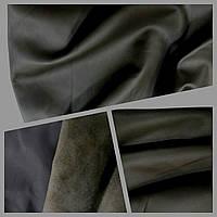 Кожа одежная овчина Loro Piana коричневый венге 0,6 мм Италия