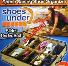Органайзер для хранения обуви 12 пар Shoes Under