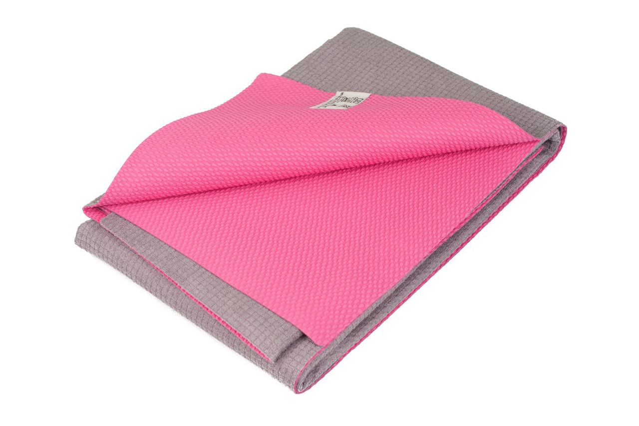 Коврик — полотенце для йоги Ятра