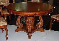 Стол круглый раскладной Р-58, фото 1