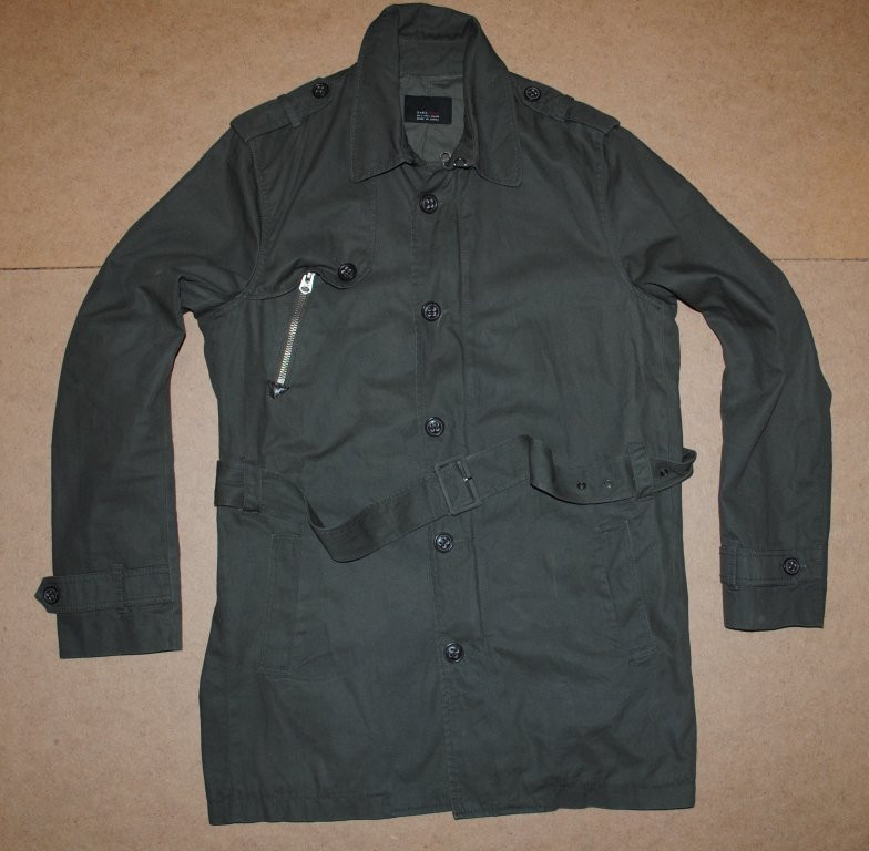 6e73305c Zara man мужское пальто, плащ, куртка, цена 599 грн., купить в ...