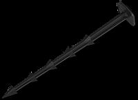 Шпилька для крепления агроткани и агроволокна, 25см (50шт/упак)