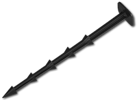 Шпилька для крепления агроткани и агроволокна, 25см (50шт/упак), фото 1