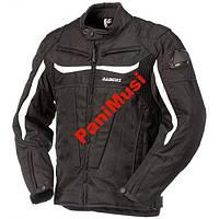 Мото куртка текстильная RAINERS MOTEGI черно-белая, фото 1