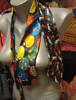 Фирменный галстук мужской сувенир праздник лот=2шт