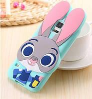 Силиконовый чехол Кролик Джудди для Samsung Galaxy S5, фото 1