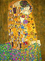 Схема для вышивки бисером Поцелуй, размер 30х40 см