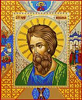Схема для вышивки бисером Св. Андрей Первозванный, размер 25х31 см
