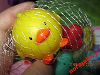 Резиновые игрушки пищалки новые лот=5 шт качество!