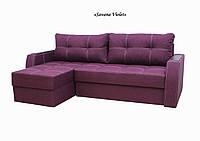 """Угловой диван """"Лорд"""" угол взаимозаменяемый «Savana Violet»"""