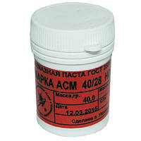 Алмазная паста АСМ 40/28  НОМГ (красная) 40г, фото 1