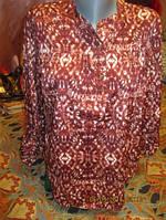 РАСПРОДАЖА  блуза блузка туника рубаха L 16 50 ШИК