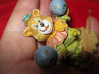 Фигурка сувенир статуэтка медведь цирк мишка миша