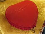 MORGAN красный кошелек органайзер сердце на молнии, фото 4