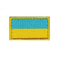 Шеврон флаг Украины 50х25мм