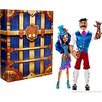 SDCC 2016 Exclusive Monster High Эксклюзивный набор из двух кукол Робекка Стим и её отец Хексикаи Стим Robecca Steam & Hexiciah Steam 2 Pack Doll