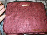 Футляр клатч для планшета чехол сумка бордовая новый