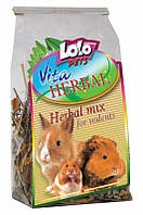 LoLo Pets VITA HERBAL Herbal Mix Rodents Корм-лакомство для грызунов