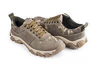 Тактическая обувь Skadi Olive: кроссовки из натуральной кожи, кордуры, подошва ТЭП + резина, 40-45 р