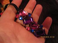 Заколка резинка повязка обруч с типа брошью для греческой прически, фото 1