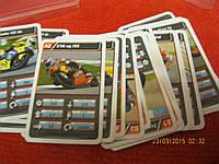 Карты карточки ГЕРМАНИЯ? TOP ASS мотоциклы набор =2колоды как карты разные