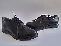 Женские кожаные черные классические закрытые туфли Fashion Footwear