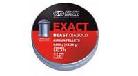 Пули пневматические JSB Diabolo Exact Beast. Пули JSB Exact Beast 1.05-4.52, 250 шт/уп.