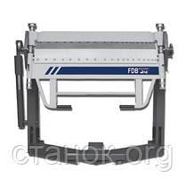FDB Maschinen ESF 1260 В Листогиб ручной сегментированный механический кромкогиб фдб машинен, фото 2