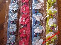 Повязки резинки заколки летние обруч набор из 4 заколок