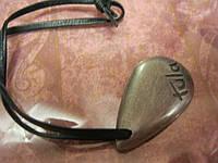 Брелок железо металл сувенир с надписью шнурок
