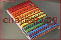 Чехол бампер LG Optimus L5 E610 E612 (Узор №35)