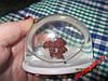 Сувенир настольный игрушка LOVE ME идет шар снег цена за набор=4 фигурки мишка собака ЗАЯЦ белка, фото 3