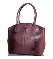 Качественная женская сумка из искусственной кожи ETERNO (ЭТЕРНО) ETMS35313-12 коричнево-розовый