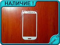 Стекло Samsung Galaxy s3 III i9300 белое