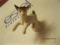 Фигурка сувенир статуэка козленок фарфор 5см коза