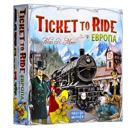 Настольная игра Hobby World Ticket to Ride: Europe (Билет на поезд: Европа)