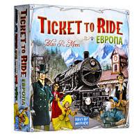 Настольная игра Hobby World Ticket to Ride: Europe (Билет на поезд: Европа), фото 1