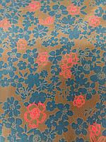Ткань натуральный шелк на платье #39