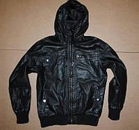 Crafted куртка под кожу (кожанка)