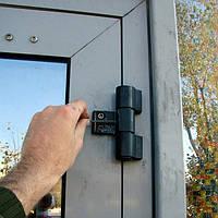 Ремонт и замена петель алюминиевой двери
