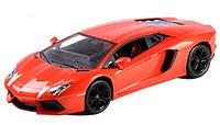 Машинка на радиоуправлении 1:24 Meizhi лиценз. Lamborghini LP700 металлическая (оранжевый)