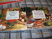 книга Bridget Jonet  a cooks record book на английском языке набор из 2книг кулинария пища