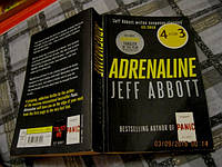 ADRENALINE JEFF ABBOTT книга НА АНГЛИЙСКОМ ЯЗЫКЕ